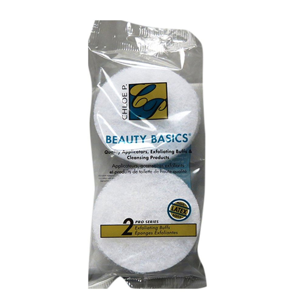 Beauty Basics Exfoliating Buffs (2 In 1 Pack) 062443
