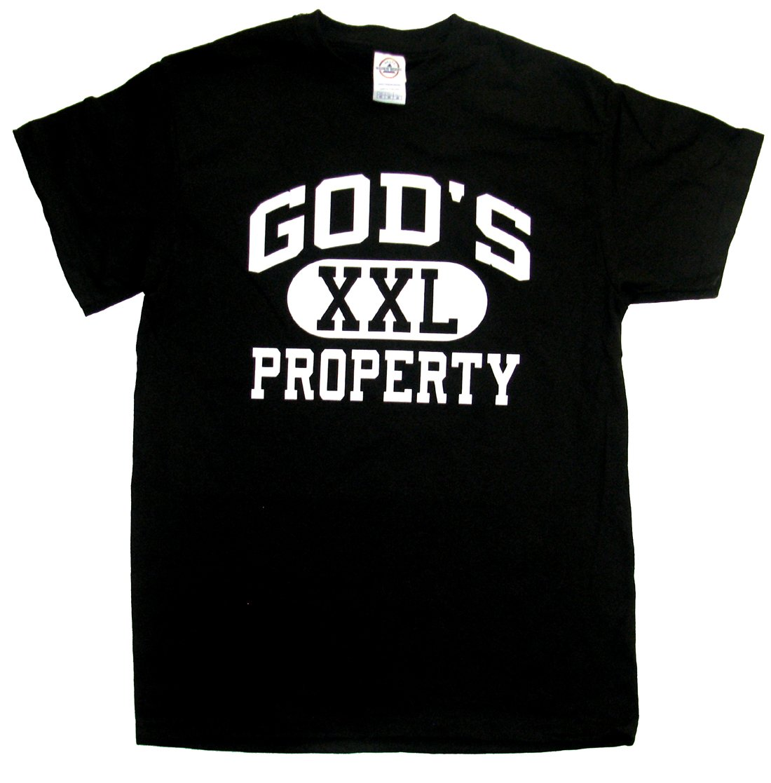 Gods Property Tshirt Christian Tee Athlectic
