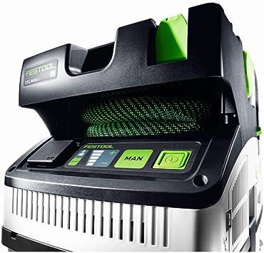 Festool CTL Midi CLEANTEC-Aspirador 574832, Negro y verde, Size ...