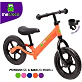 TheCroco Lightweight Balance Bike Premium for Toddlers and Kids