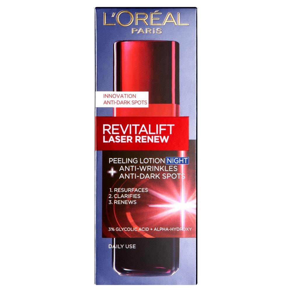 L'Oreal Paris Revitalift Laser Renew - Lozione peeling notte, 125 ml 3600522752691