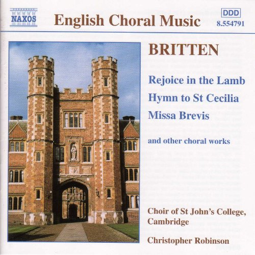 Britten: Rejoice in the Lamb (The Hastings College Choir ...