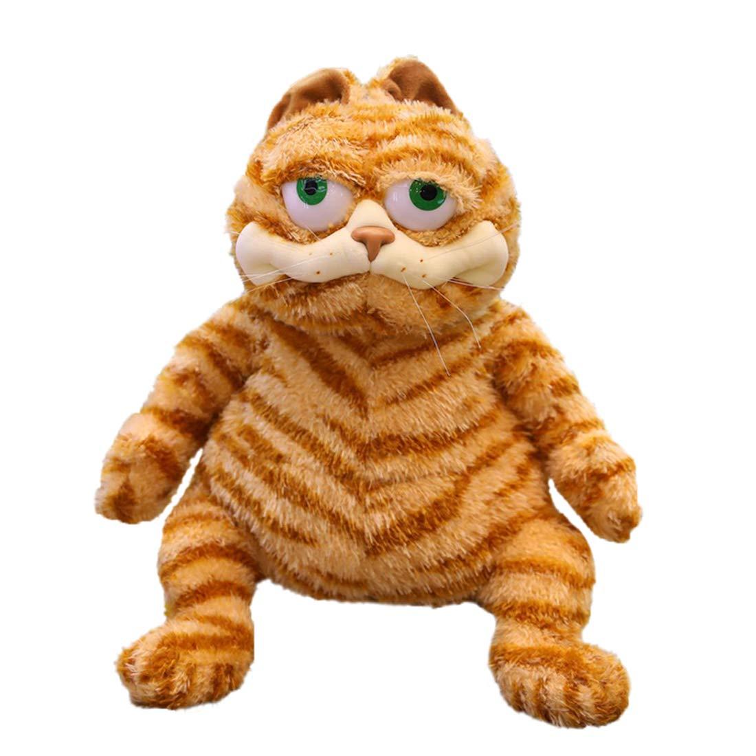 Lifelike Fat Cat Plush Garfield Stuffed Buy Online In Brunei At Desertcart