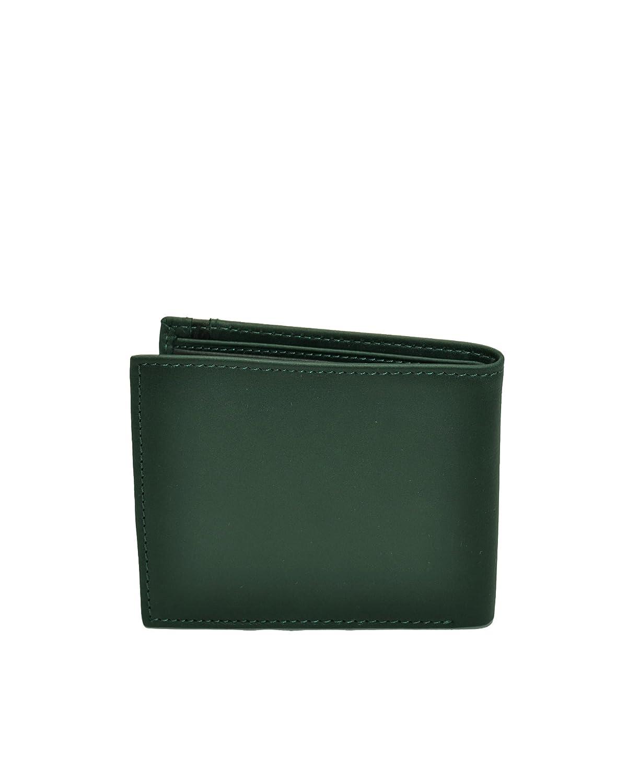 Portafoglio Uomo Saffiano Armani Jeans 06V2D Verde: Amazon ...