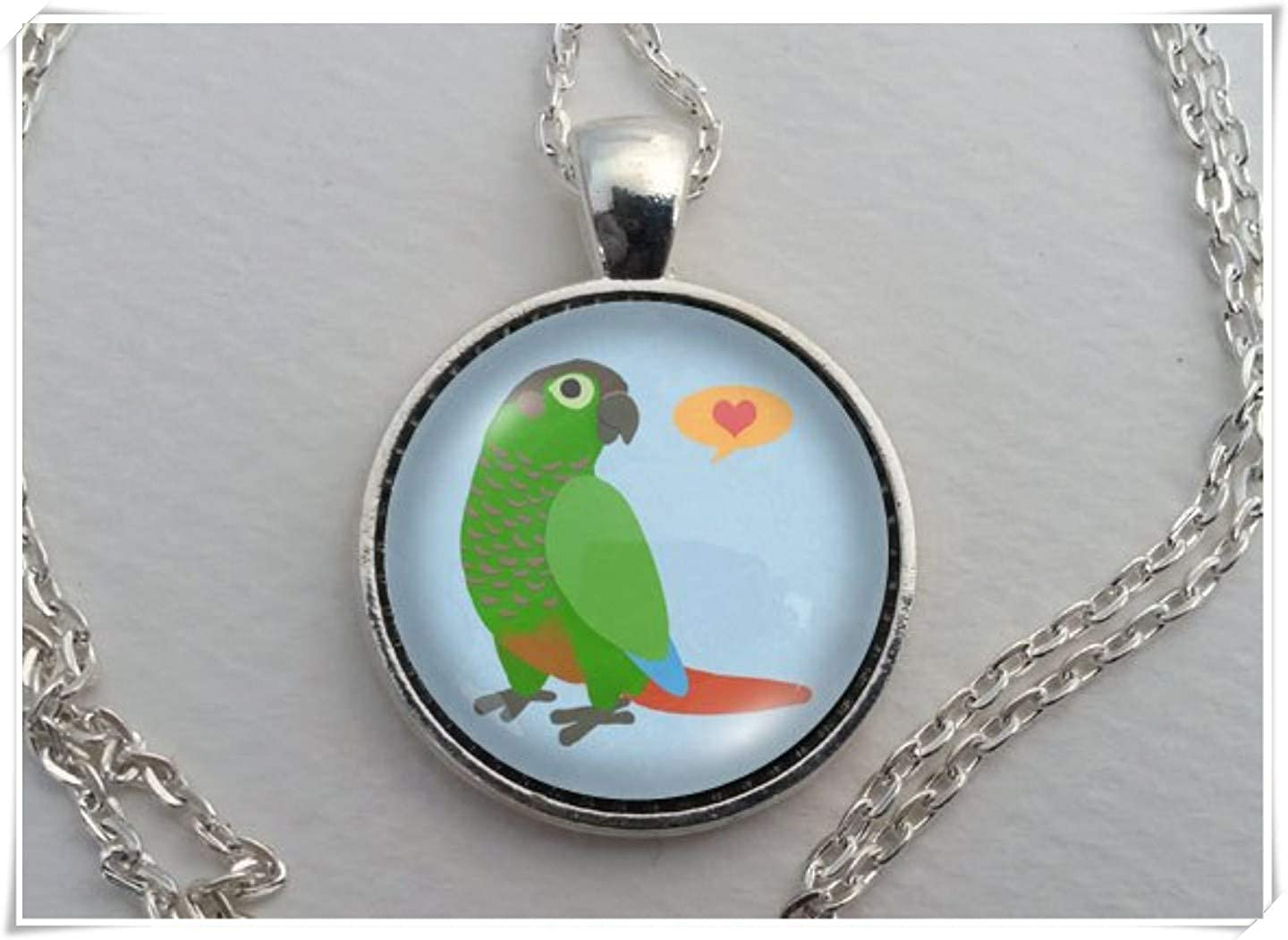 custom necklace personalized Friend gift tropical gift bird Toucan necklace parrot jewelry- collier perroquet bird necklace