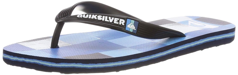 Quiksilver Molokai Resin Check Chaussures de Plage /& Piscine gar/çon