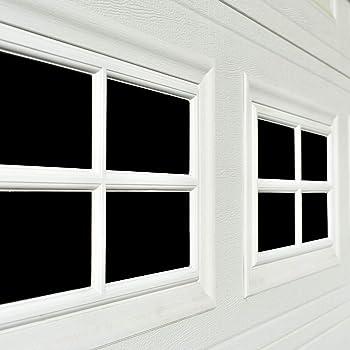 Magnetic Garage Door Windows Decorative Black Window Decals For