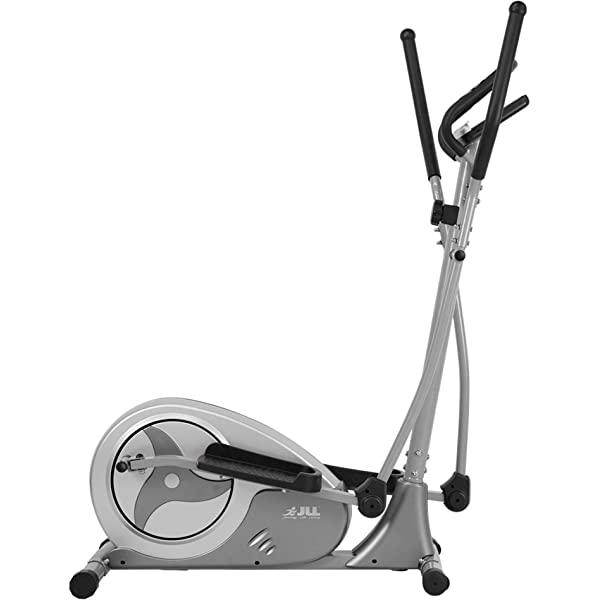12-lbs Two Way Flywheel Monitor with Heart Rate Sensor and Tablet Holder OT111 ONETWOFIT Home Elliptical Cross Trainer 13-inch stride length 8-level Magnetic Resistance