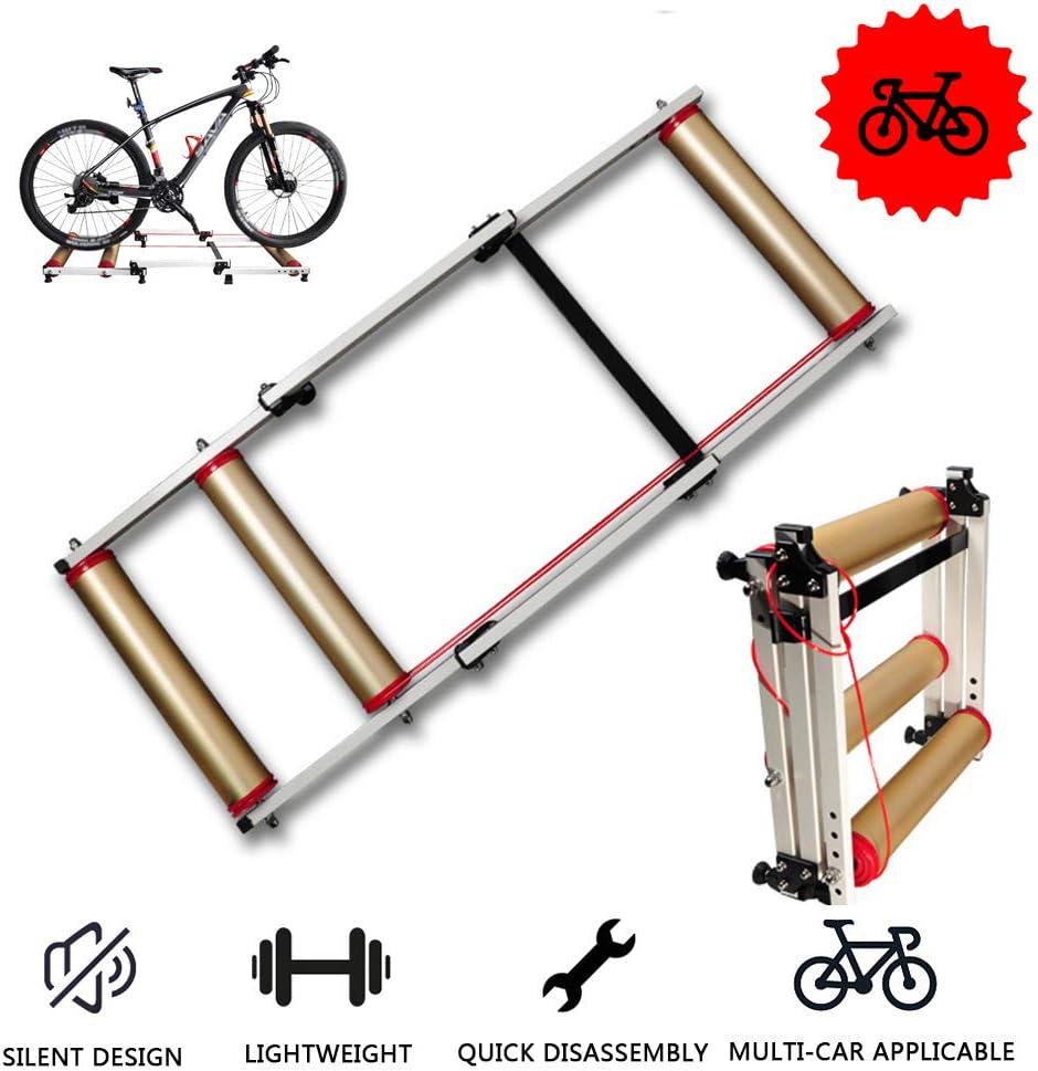 Bicicleta plegable Rodillos Trainer - Resistencia bicicleta de ...