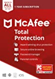 McAfee Total Protection 2020 Unlimited Devices, Antivirus Internet Security Software Password Manager, Parental Control…