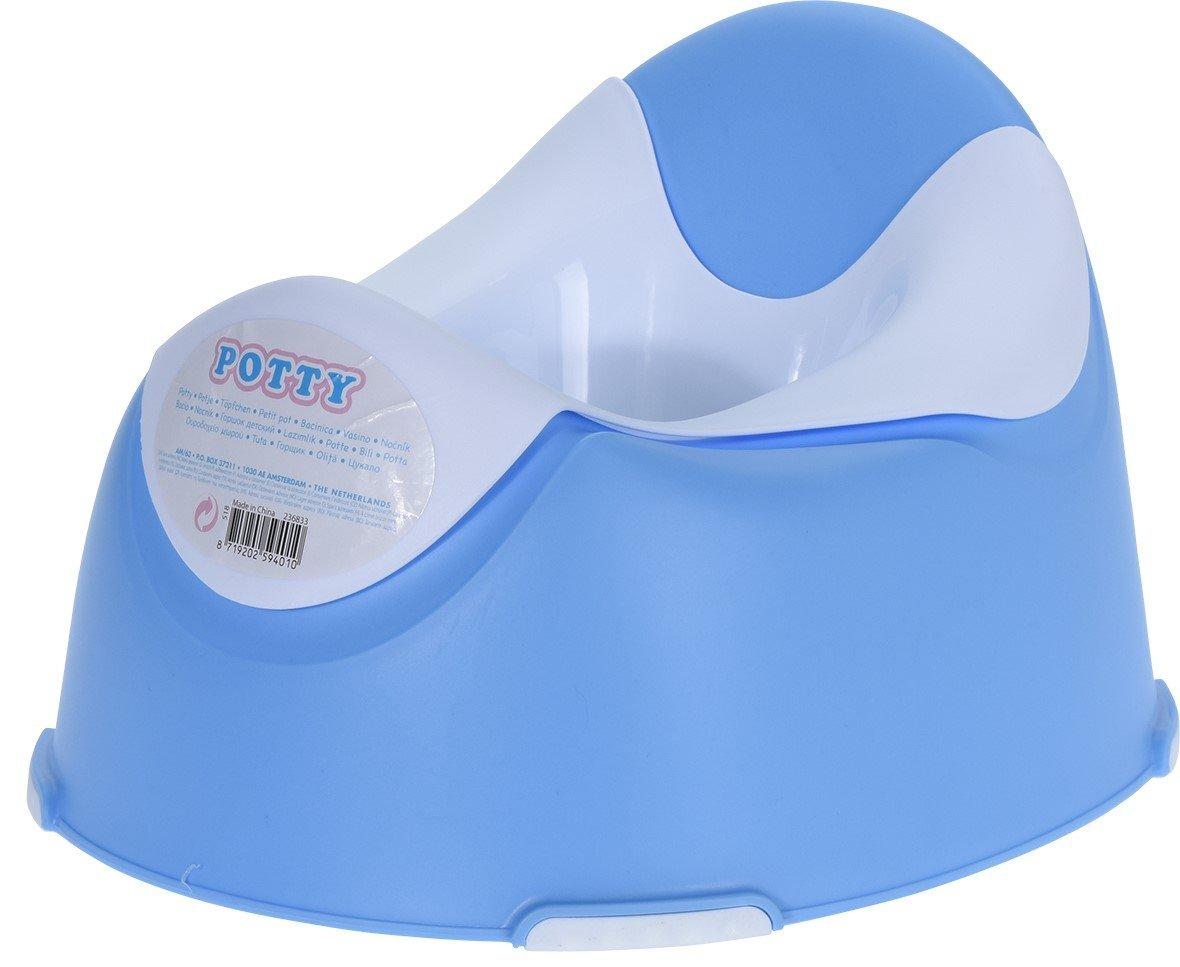 Hibuy Petit pot pour bébé, coque intérieure amovible, forme anatomique, antidérapante, sûre Rosa