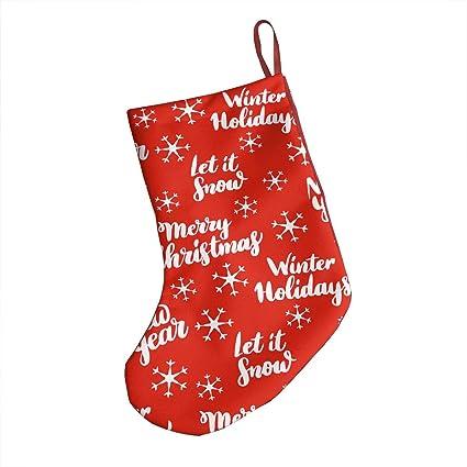 Amazon Com Cfecup Christmas Stockings Personalised Christmas