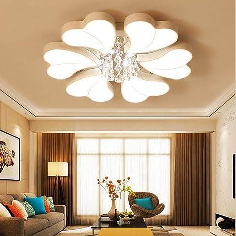 Moderno LED Luces de techo, Seis pétalos Amor Diseño, Alta ...