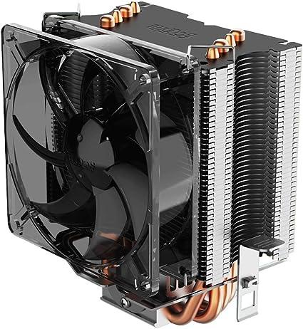 Pccooler S90F Premium CPU Air Cooler with 4 Heatpipes - Super Power CPU Heatsink - TDP 135w - 92mm PWM Fan Suitable for Mini PC Case, Intel Core ...