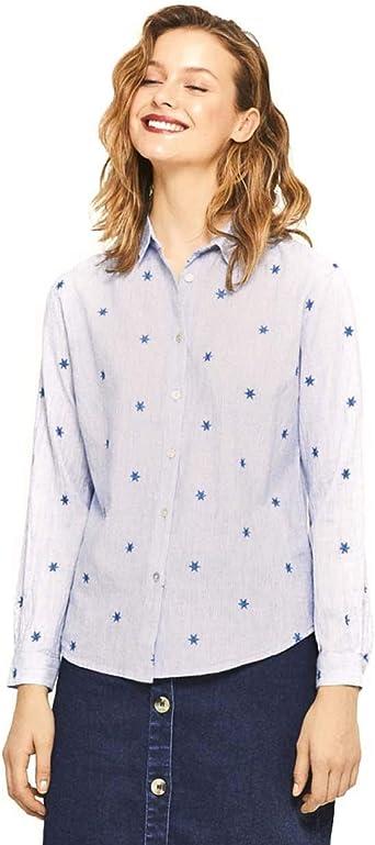 Surkana Camisa Pin Stripes Azul Celeste XXL: Amazon.es: Ropa ...