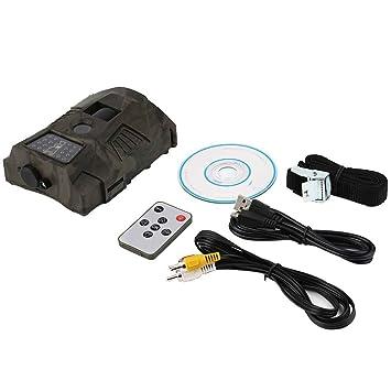 LUFA - Cámara de vigilancia de 60 grados para caza al aire libre, caza,