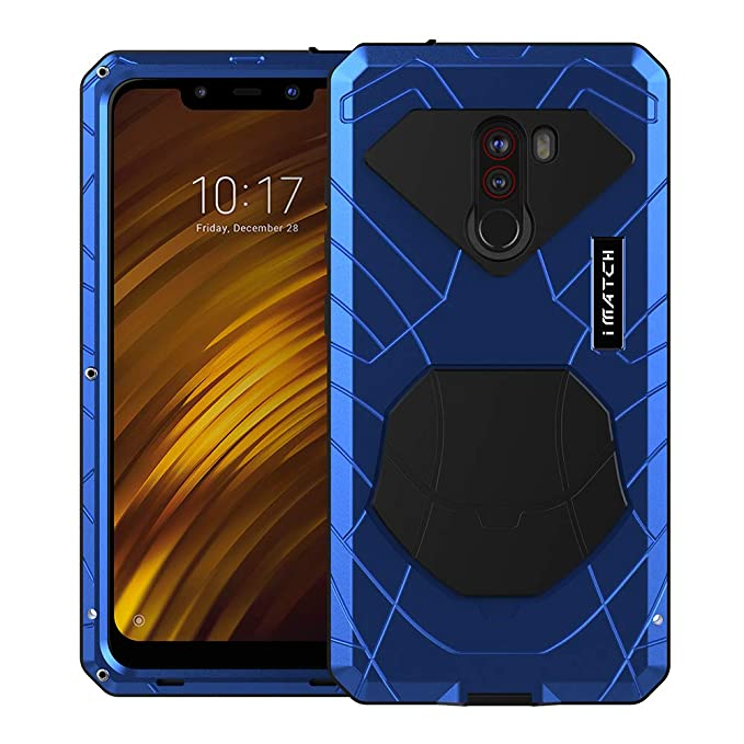 Amazon.com: Cresee for Xiaomi Mi Pocophone F1, Hard Aluminum ...