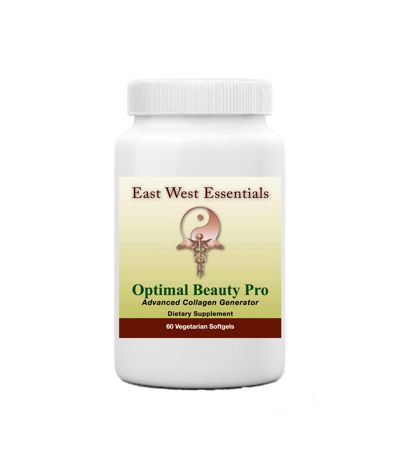 Optimal Beauty Pro - Dietary Supplement by East West Essentials - Promotes Thicker, Healthier Hair - Helps Build Collagen - Reduces Fine Lines & Wrinkles by East West Essentials