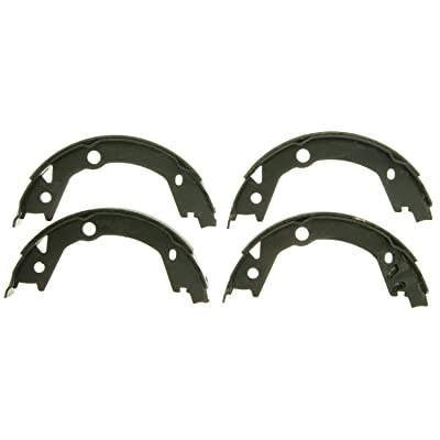Wagner Z845 Parking Brake Shoe Set, Rear: Automotive