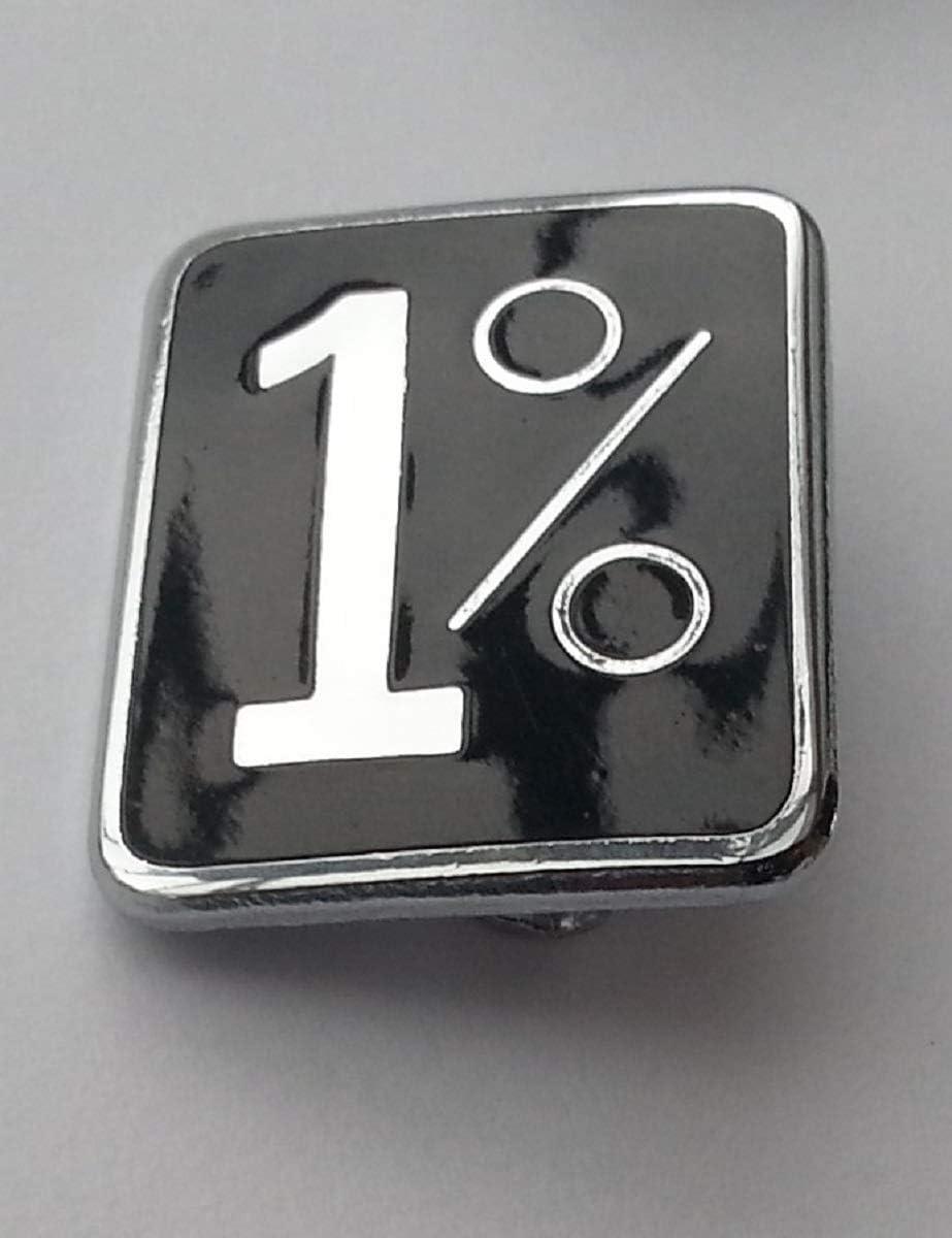 Bajman Anstecknadel 1/% Emaille