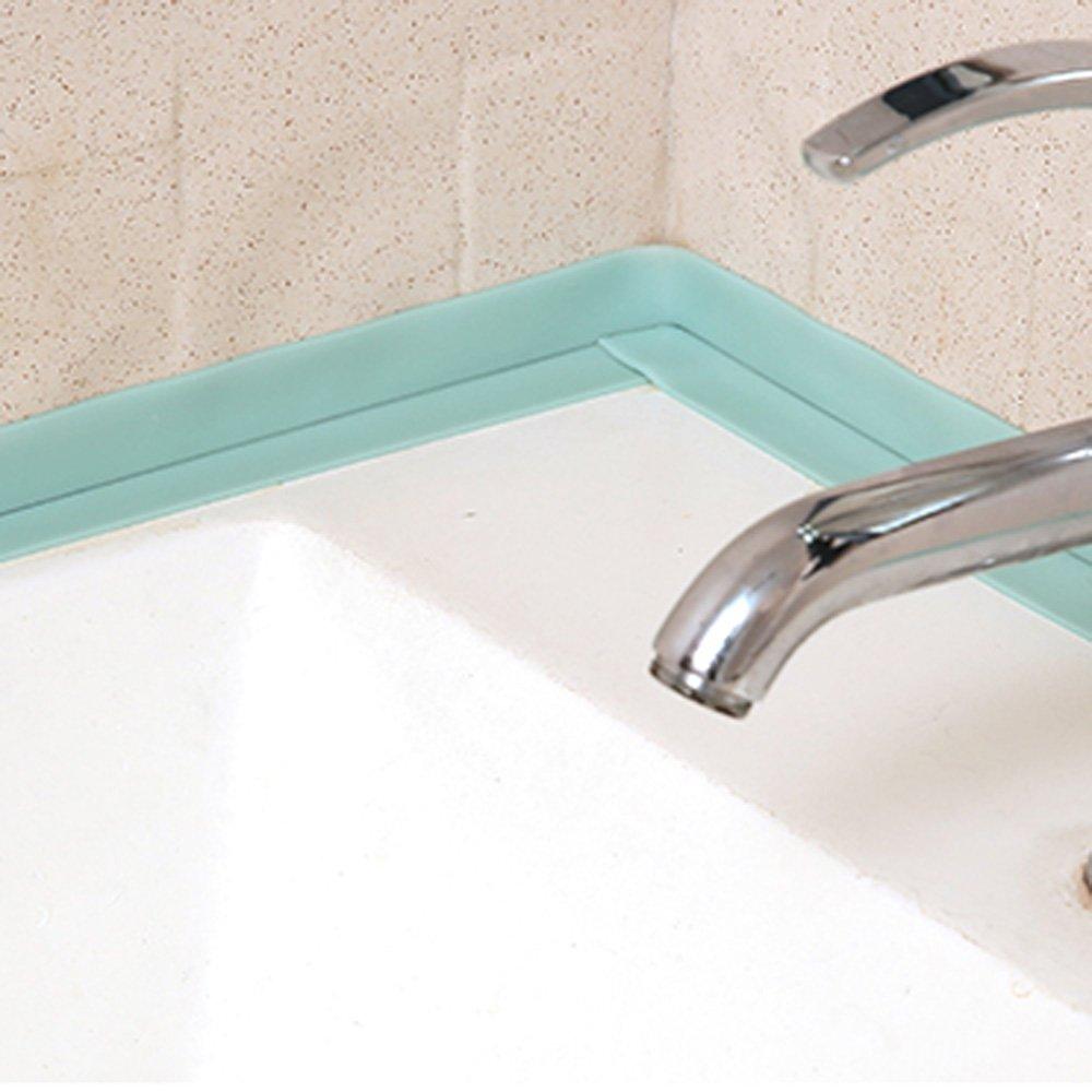 Amazon.com: KaLaiXing Tub And Wall Caulk Strip. Kitchen Caulk Tape ...