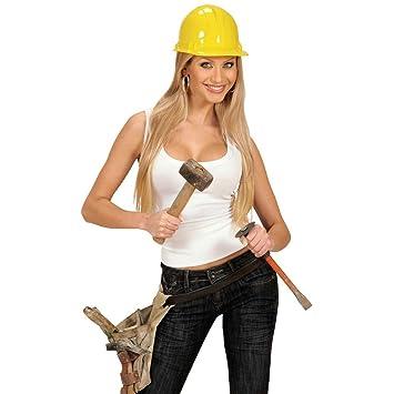 NET TOYS Elmo muratore casco da operaio edile travestimenti per Carnevale e  feste copricapi protettivi  Amazon.it  Giochi e giocattoli 675ce201de28