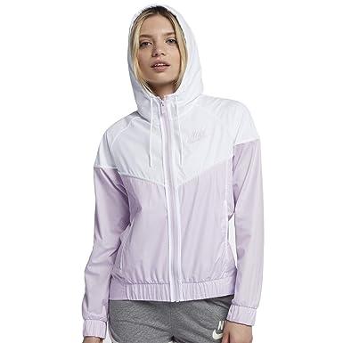 9706718003c51 Nike Womens Lightweight Hooded Windbreaker Jacket Purple L at Amazon ...