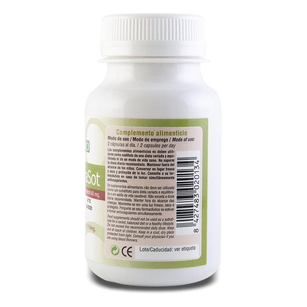 SOTYA - SOTYA Resverasot 60 cápsulas 510 mg: Amazon.es: Salud y cuidado personal