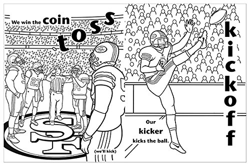 San Francisco 49ers Coloring Activity Storybook Brad M Epstein