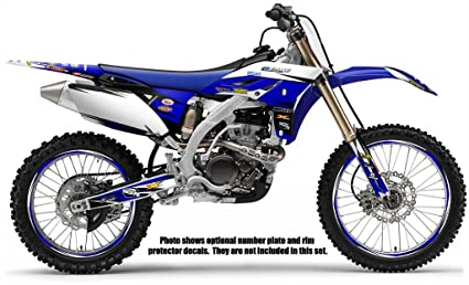 Amazon.com: Senge Graphics 2000-2007 Yamaha TTR 125, Velocity Blue ...