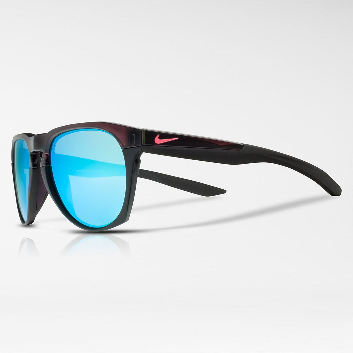 EV1020-205 NIKE Essential Navigator R Sunglasses EV1020 Nike Men/'s Essential Navigator M Square Sunglasses Matte Tortoise//Night Maroon 54 mm Inc