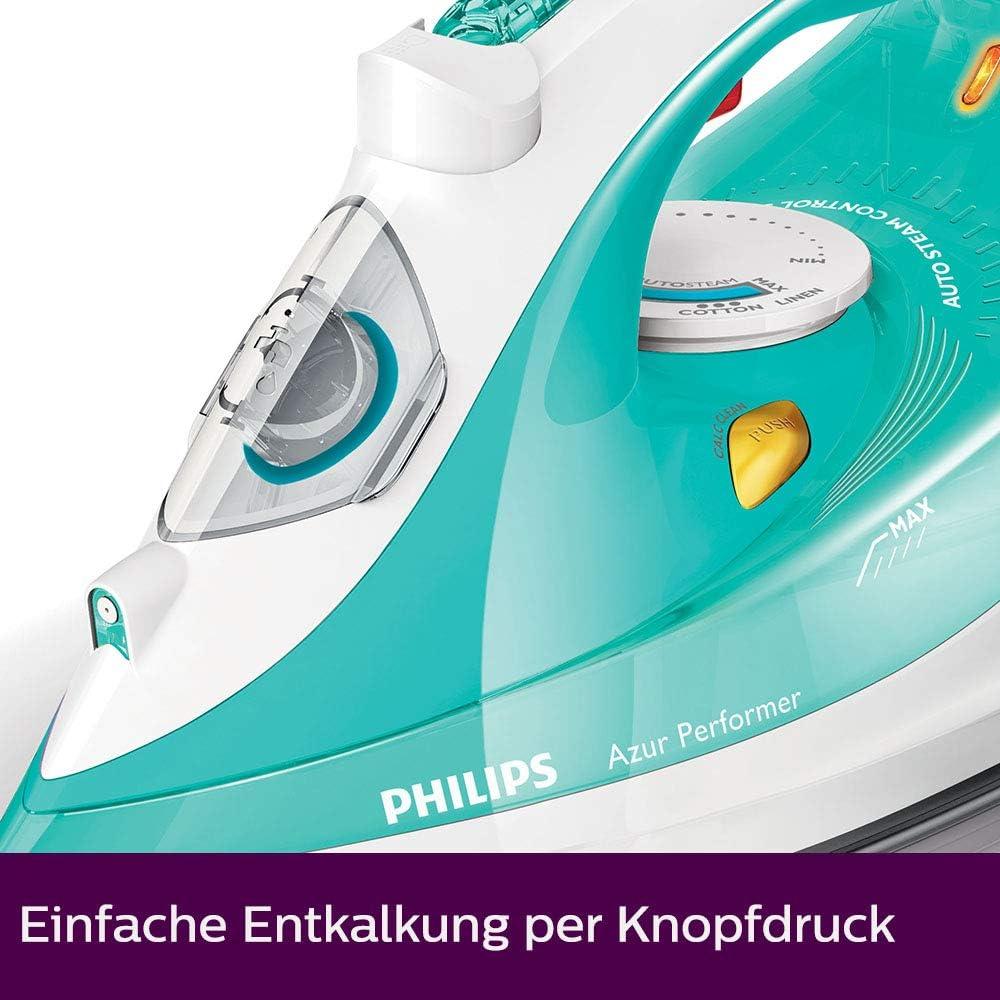 Philips GC3811//70 Azur Performer Dampfbügeleisen Grün transparent Weiß 2400