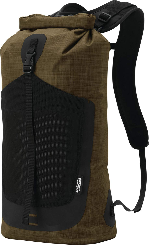 SealLine Skylake 18-Liter Minimalist Waterproof Dry Daypack, Heather Brown