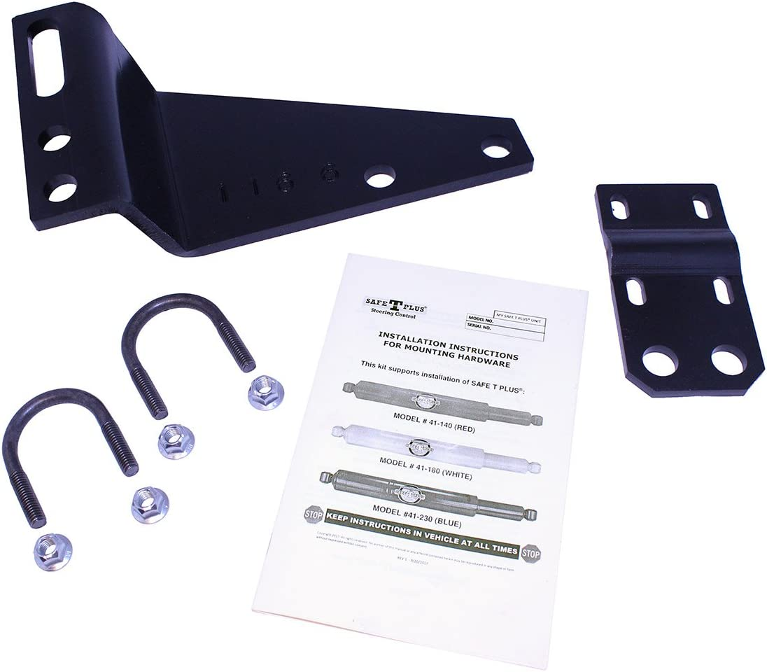 Safe-T-Plus RV Steering Stabilizer Mounting Kit (Model: V-917K3)