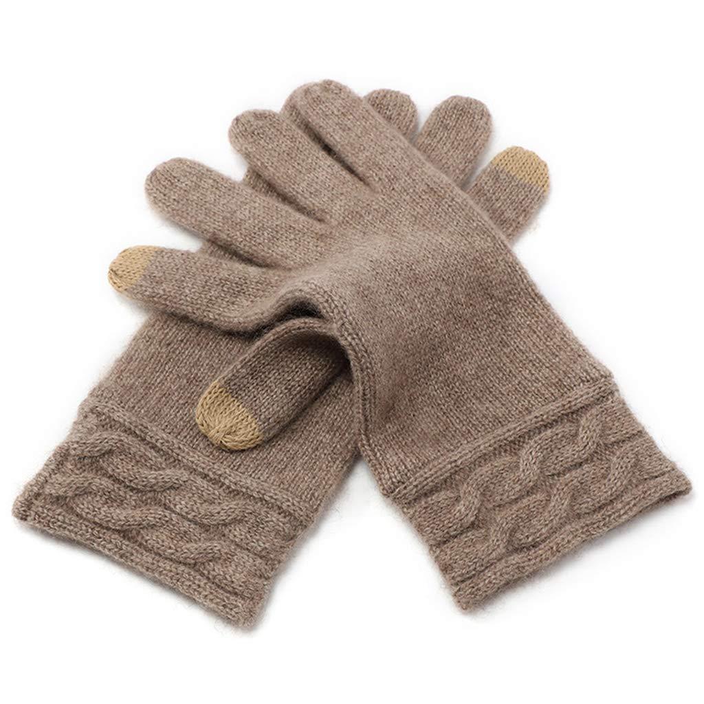 DSADDSD Warme Handschuhe Damen, Herbst und Winter Outdoor Sports Kalthandschuhe