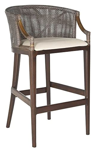 Safavieh Home Collection Brando Brown 28-inch Bar Stool