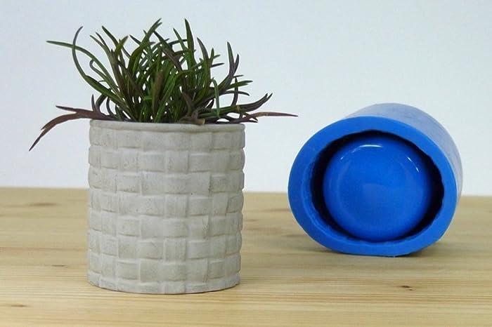 Amazon Com Silicone Mold For Medium Concrete Planter Handmade