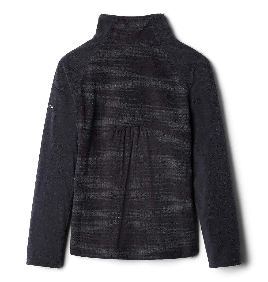 Columbia Girls Glacial Ii Fleece Print Half Zip