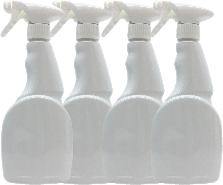 Household Cleaning Chemical Resistant Standard Valeting 1 Trigger Spray Bottles 500ML