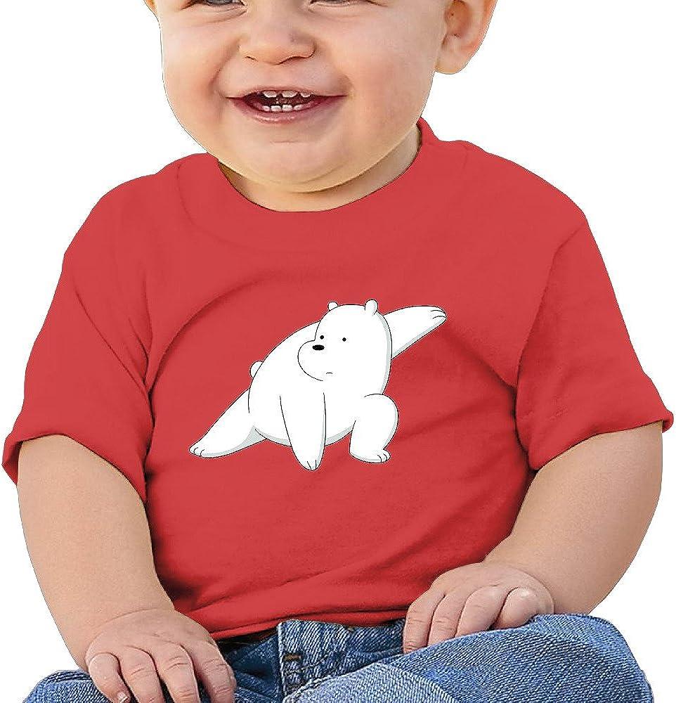 DOfunn Unisex-Baby//Toddler//Infant We Bare Bears Ice Bear T-Shirts