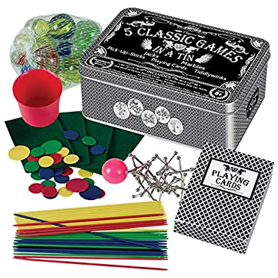 Westminster 5 Classic Games in A Tin: Toys & Games