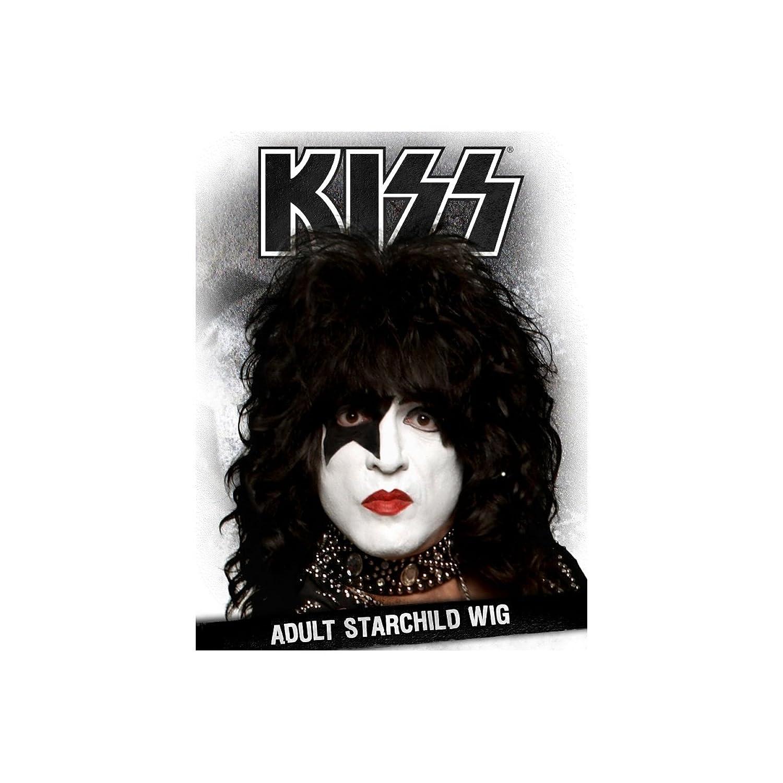 amazon com kiss paul stanley starchild wig costume accessory