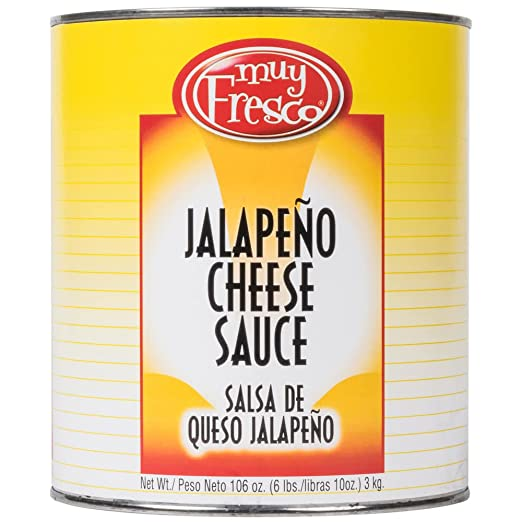 TableTop King Muy Fresco Aged Cheddar Nacho Cheese Sauce #10 Can - 6/Case: Amazon.com: Grocery & Gourmet Food