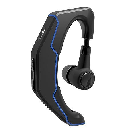 Futuresky Auricular Bluetooth inálambrico Manos Libres con Micrófono y Cancelación de Ruido MIC Incorporado Para iPhone