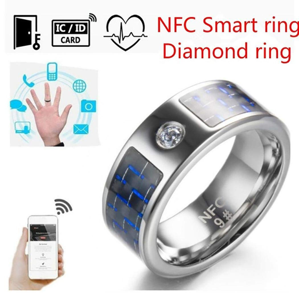 GoodKE Smart Ring Fashion Jewelry Rings Wearable Electronic for iOS Android Mobile Phone Arm & Wristband Accessories