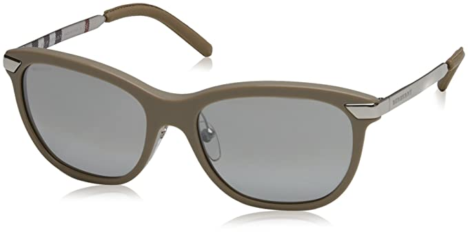 Burberry Mujer 0Be4169Q 34506V 57 Gafas de sol, Beige (Beige ...