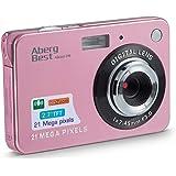 "AbergBest 21 Mega Pixels 2.7"" LCD Rechargeable HD Digital Camera Video Camera Digital Students Cameras,Indoor Outdoor…"
