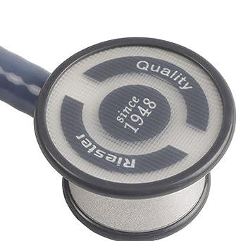 Riester 4041 Estetoscopio duplex baby azul, aluminio, en caja expositora de cartón