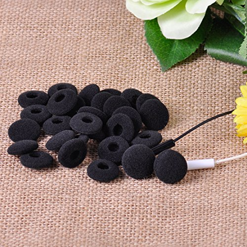 5 Pairs 18mm Foam Pads Sponge Earpads Replacement Cover for Earphone HeadPhone