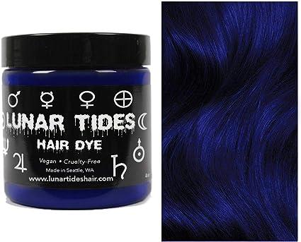 Blue Velvet, tinte semi permanente para el cabello azul - 118 ml - Lunar Tides